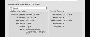 Network Utility OS X Yosemite